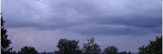 Digoin (S&L) - 239 m - 21h30 loc. - Cumulonimbus (orage récent)