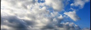Temps mitigé, nuageux ce matin entre temps éclaircies et ciel peu nuageux