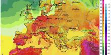 Europe heatwave set high temperature records