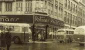1960 au coin de la rue Notre-Dame et Des Forges Heure et date sont fictives