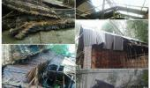 52 HOUSE ARE DAMAGE WITHIN FEW TIME BY HARD WIND AND RAIN