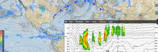 New cross sections within weather maps are available worldwide now