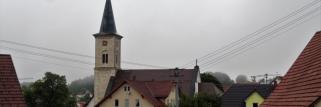 heubergwetter: noch grau und trüb, regnerisch.