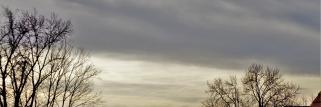 heubergwetter: mild, hohe  dünne wolken und trübe sonne.