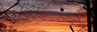 Nürnberg grandioser Sonnenaufgang