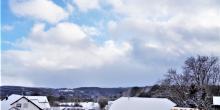 heubergwetter: der schneesturm ist vorbei, der sturm bleibt.