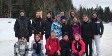 meteoblue auf Ski