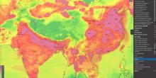 خرائط الطقس الجديدة لجودة الهواء
