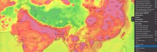 New air quality weather maps