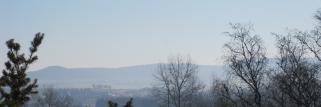 In der Früh: frostig -2,5°C, Nebel und Sonne!
