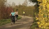 Ausflug mit Fahrrädern am Sonntag zwischen Eichstetten und Bötzingen