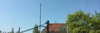 Strahlender Sonnenschein in München