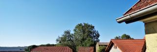 heubergwetter: sonne, blauer himmel und schön warm.