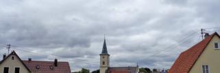 heubergwetter: sonne 0%, wolken 100%.