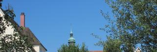 Blauer Himmel über der Residenz-Stadt !