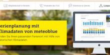 TCS intègre les données météo de meteoblue pour la planification des vacances