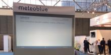 meteoblue في معرض عالم تكنولوجيا الأرصاد الجوية 2018