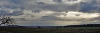 heubergwetter(sw-alb): kalte nacht, kalter morgen, eisiger no-wind, schnee.