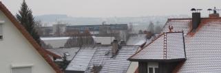 Nun haben wir in der Region auch Schnee !