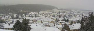 Südpfalzwetter, mit 4 cm Schnee :-)