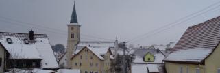 heubergwetter(sw-alb): kalte nacht und am morgen wurde leicht gepudert.
