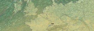 Nuova widget mappa: animazioni del vento e di più
