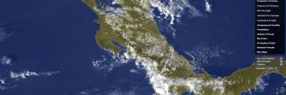 Eternal day....  on the satellite maps