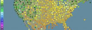 Meteo attuale ora con satellite e radar - in tutto il mondo