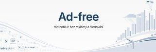 meteoblue Ad-free předplatné webových stránek