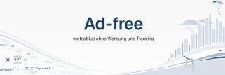 meteoblue Ad-free Website-Abonnement