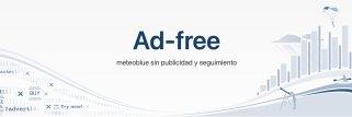 suscripción meteoblue Ad-free