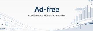 Abbonamento Ad-free per il sito web meteoblue
